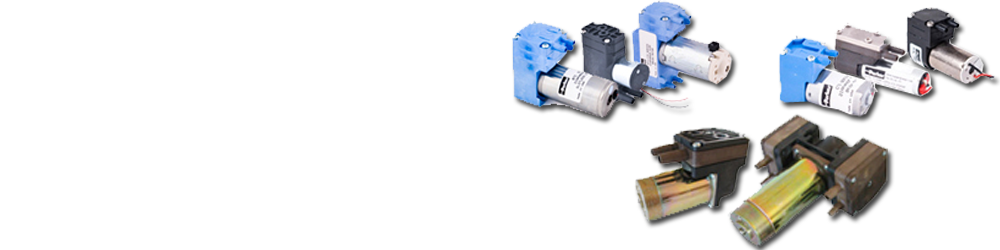 Miniature Diaphragm Pumps - Air/ Gas